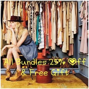 All Bundles 25% Off & Free Gift